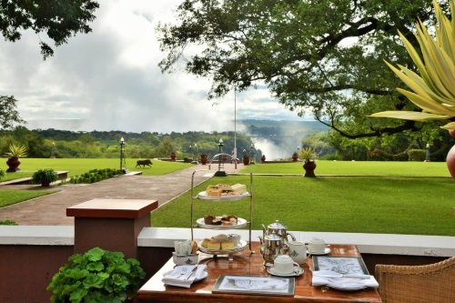 Victoria Falls Hotel afternoon tea 2