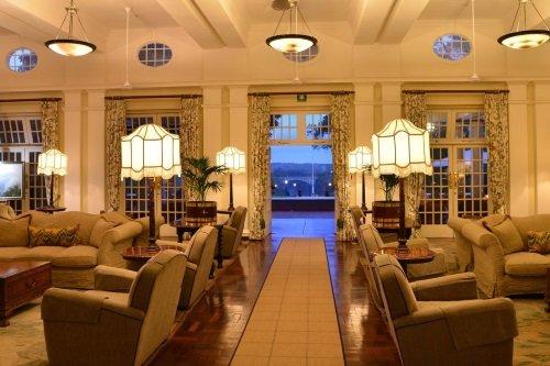 Victoria Falls Hotel lounge