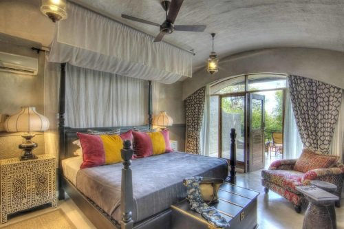 Chobe Game Lodge kamer