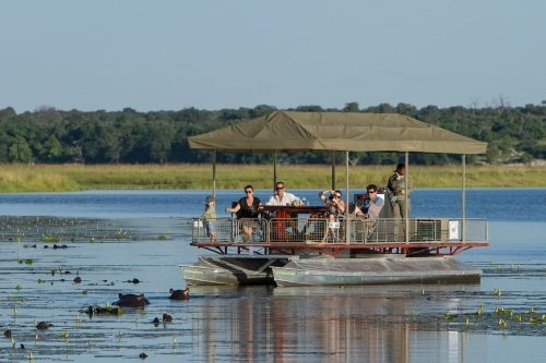 Chobe Game Lodge bootcruise