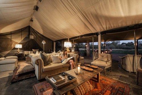 Machaba Camp algemene tent