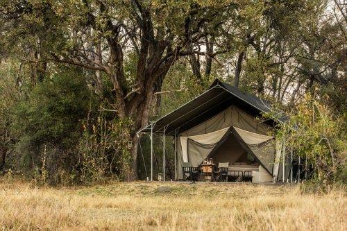Machaba Camp tent overdag