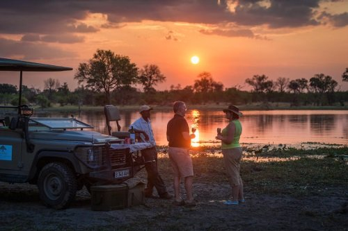 Machaba Camp sundowner