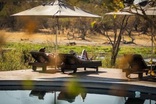 Machaba Camp zwembad