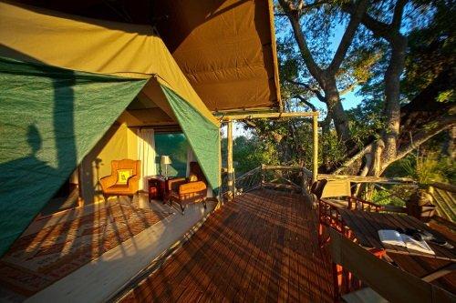 Pom Pom Camp terras tent