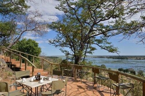 Muchenje Safari Lodge uitzicht