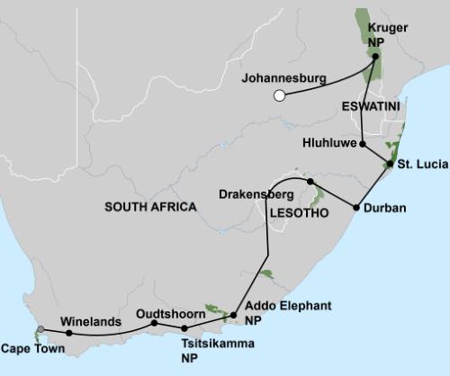 Groepsreis Het Beste van Zuid-Afrika 001
